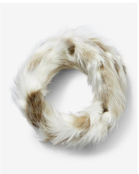 Express Faux Fur Loop Scarf