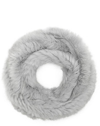 Vince Camuto Fur Long Infinity Scarf