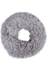 River Island Grey Faux Mongolian Fur Snood