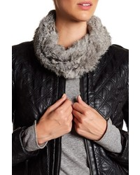 Joie Lonica Genuine Rabbit Fur Neck Warmer