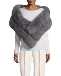 La Fiorentina Panelled Fox Fur Scarf