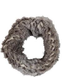 Theory Rabbit Fur Infinity Scarf
