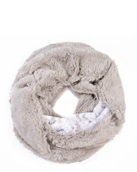 Riah Fashion Faux Fur Infinity Scarf
