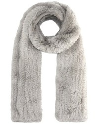 Yves salomon meteo fur scarf medium 6458376