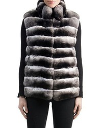 Chinchilla fur vest medium 4016829