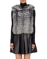 J. Mendel Fur Sequined Vest