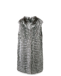 Liska Sleeveless Long Length Gilet