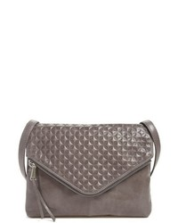 Hobo Adelle Embossed Leather Crossbody Bag