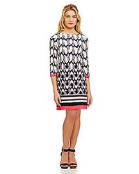 Eliza J Geometric Shift Dress