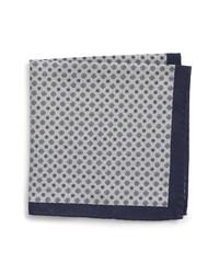 Nordstrom Men's Shop Reversible Silk Cotton Pocket Square