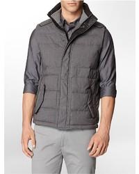 Calvin Klein Plaid Puffer Vest