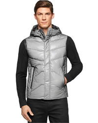 Calvin Klein Slim Fit Mesh Bonded Puffer Vest