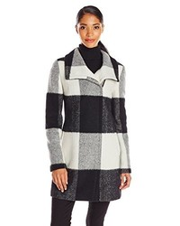 Ivanka Trump Plaid Wool Coat