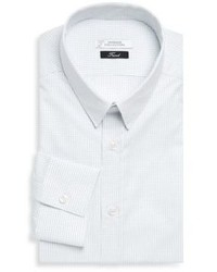 Versace Gingham Dress Shirt