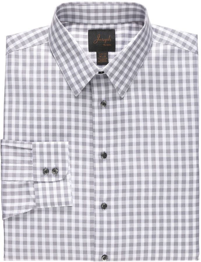 Jos a bank new joseph slim fit spread collar cotton for Joseph banks dress shirts