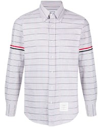 Thom Browne Straight Fit Button Down Shirt