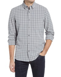 Nordstrom Men's Shop Fit Stretch Check Shirt