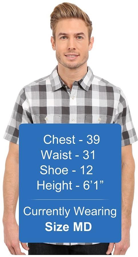 76c5dea0e Short Sleeve Shadow Gingham Shirt Short Sleeve Button Up