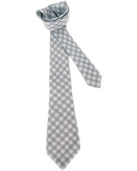 Kiton Checked Tie