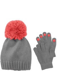 Girls 4 16 Rhinestone Hat Gloves Set