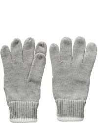 Joe Fresh Kid Girls Rib Knit Gloves Grey