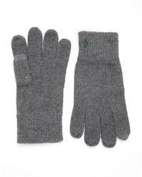 Polo Ralph Lauren Logo Knit Gloves