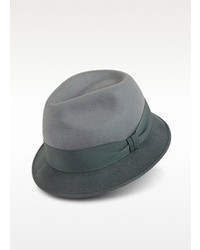 Paul Smith Gray Dip Dyed Trilby Hat