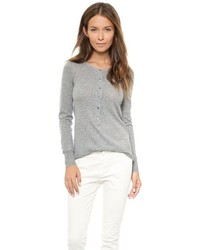 Nili Lotan 18 8 Long Sleeve Henley Sweater