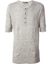 Balmain Henley T Shirt