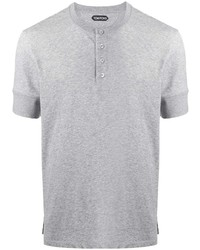 Tom Ford Button Up Short Sleeved T Shirt