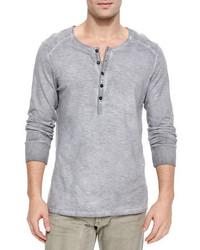 Belstaff Chirton Long Sleeve Henley Shirt