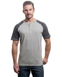 Lee Classic Fit Raglan Henley