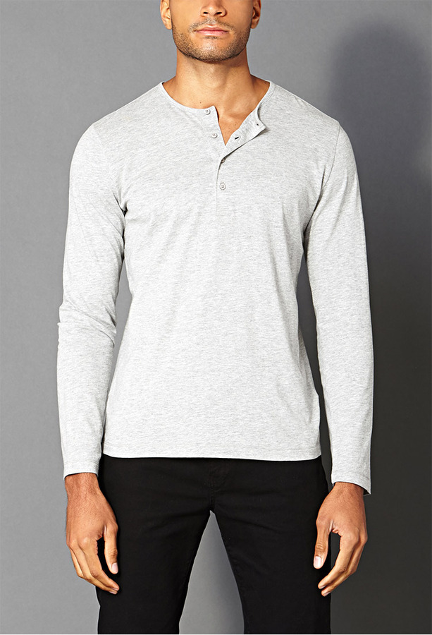 Forever 21 21 Classic Henley Where To Buy How To Wear