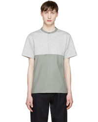Tim Coppens Grey Green Woven Henley