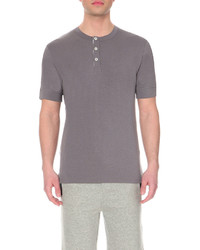 Hamilton Hare Henley Stretch Cotton T Shirt