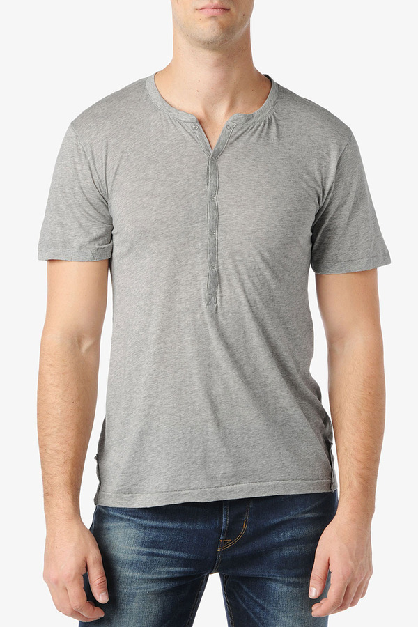 Hudson Jeans Ss Jersey Henley Where To Buy How To Wear