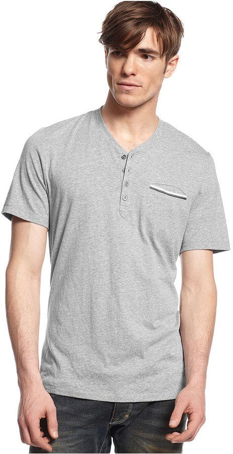 Inc International Concepts Hickory Henley T Shirt Where