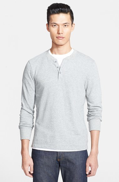 James Perse Long Sleeve Henley Where To Buy How To Wear