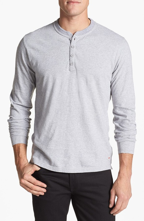 Levi 39 s core henley where to buy how to wear for Kim kardashian henley shirt