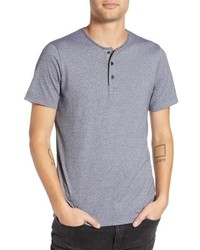 Wings + Horns Marled Henley T Shirt