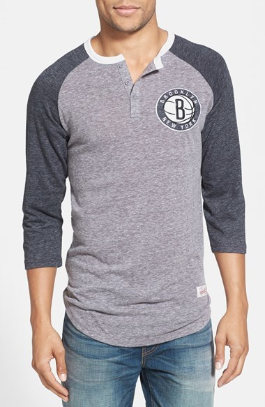 Mitchell Ness Brooklyn Nets Hustle Play Tailored Fit
