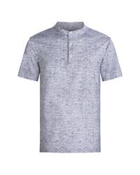 Bugatchi Ooohcotton Short Sleeve Henley Shirt
