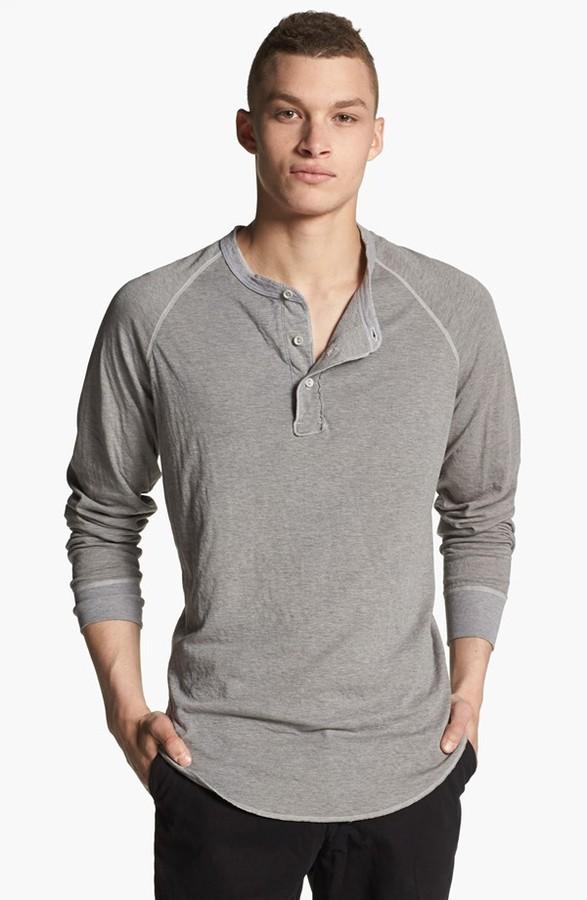 Save Khaki Raglan Henley Where To Buy How To Wear