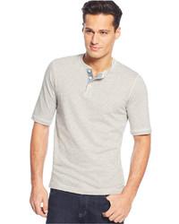 Weatherproof Short Sleeve Henley Shirt