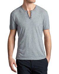 John Varvatos Star Usa Grommet V Neck Tee
