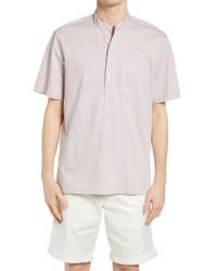 Club Monaco Stripe Shirting Pullover