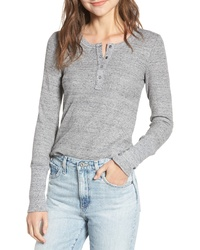 Splendid Thermal Henley Tee