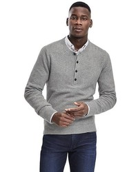 Banana Republic Heritage Wool Cashmere Henley