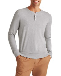 Bonobos Cotton Blend Long Sleeve Henley Sweater