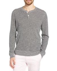 Bonobos Cotton Linen Henley Sweater